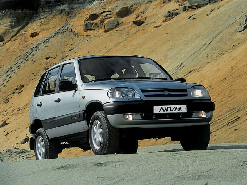 New on the outside, classic on the inside.  Test drive Lada Niva Travel