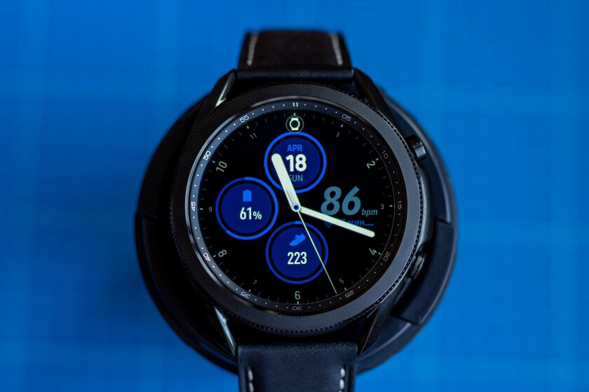 Review of the new smartwatch Samsung Galaxy Watch 3: a handful of long-awaited features