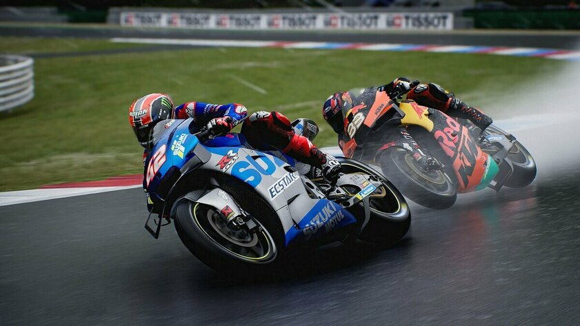 Motorcycle racing deserves its place.  MotoGP 21 Review