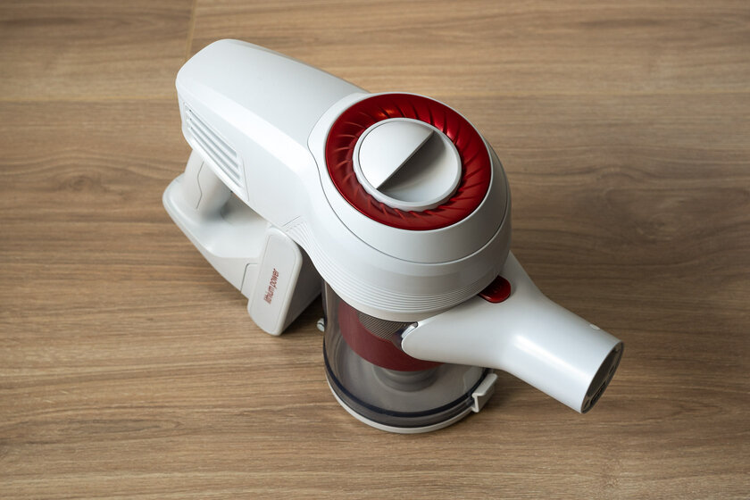 A vacuum cleaner for those who do not like vacuuming.  Jimmy JV51 Manual Review - Appearance and Ergonomics.  one