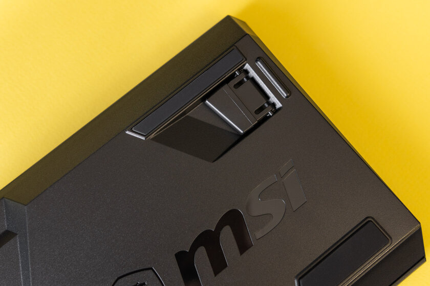 Low profile and octagonal keycaps: MSI Vigor GK50 unusual keyboard review - Look and feel.  four