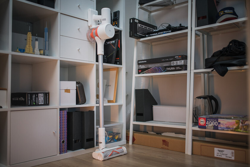 For any cleaning!  Review of the upright vacuum cleaner Xiaomi Mi Vacuum Cleaner G9