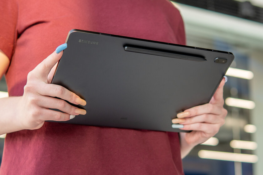 Galaxy Tab S7 FE experience: huge display and stylus included