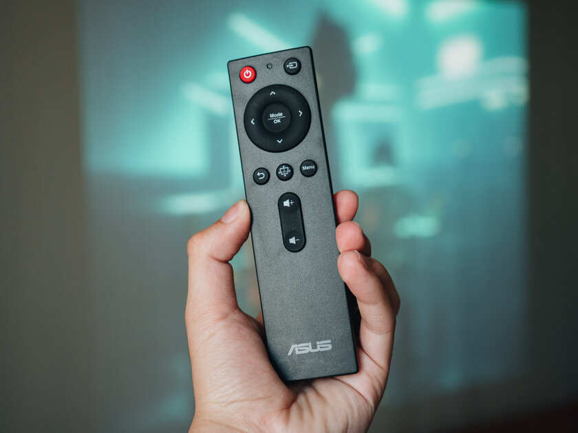 Home cinema at 120 FPS, which you can watch during the day.  ASUS H1 Projector Review - Management.  3