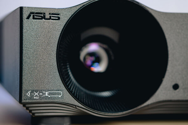 Home cinema at 120 FPS, which you can watch during the day.  ASUS H1 Projector Review - Review.  2