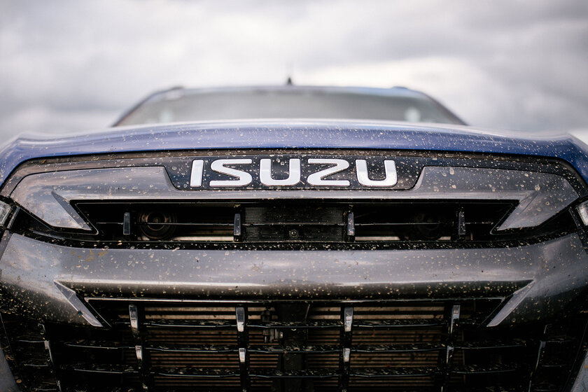 Pickup from Japan for our hinterlands.  Test drive Isuzu D-Max