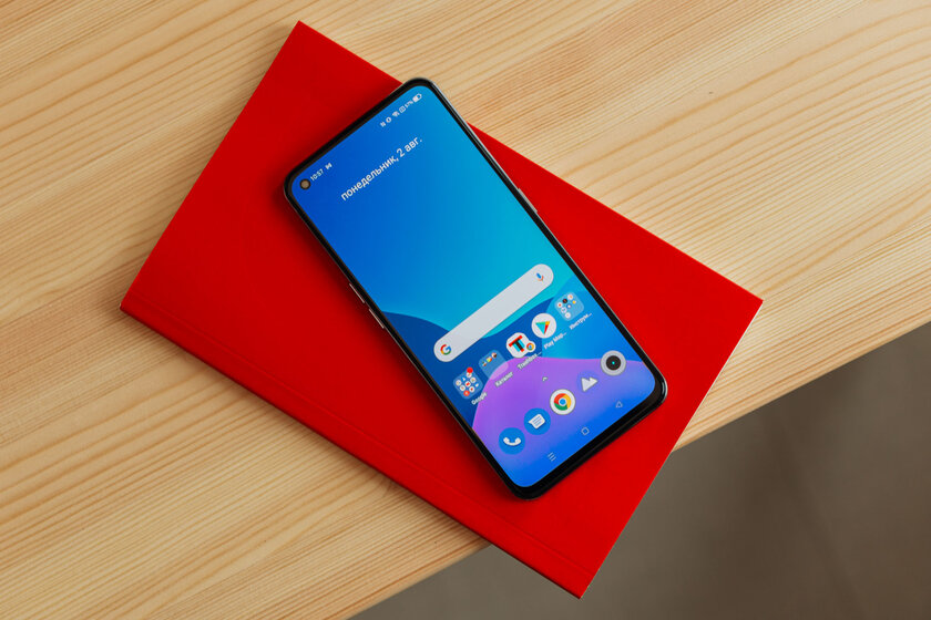 Sports car in the world of smartphones: Realme GT tested and did not remain indifferent - Display.  one