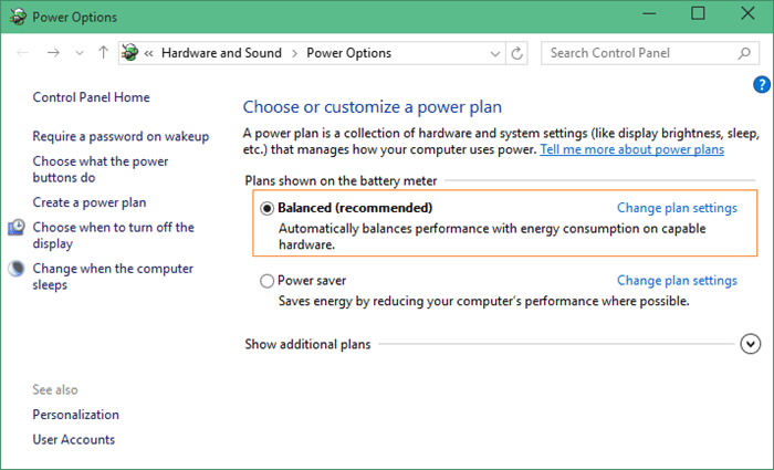 Windows 10 Battery Saver Enable or disable Picture8