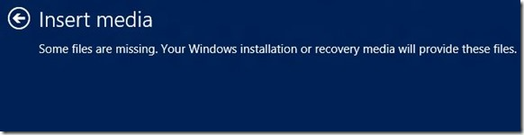 Reset or Update Windows 8 PC Without DVD Step11